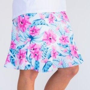 Agnes & Dora Flounce Pencil Skirt, XXS Tween